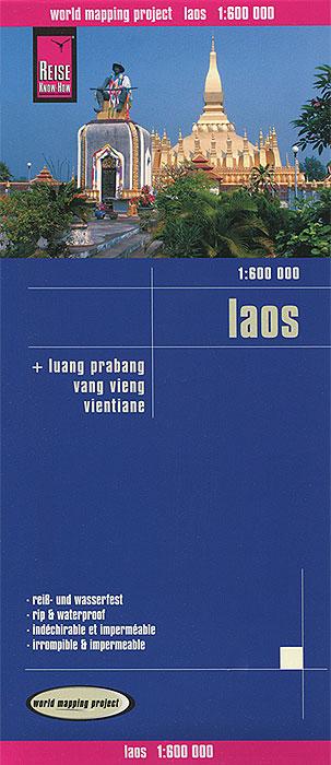 Laos. Карта