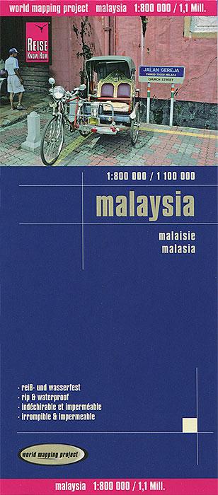 Zakazat.ru: Malaysia. Карта