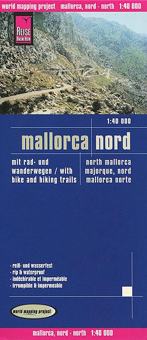 Mallorca. Nord. Карта