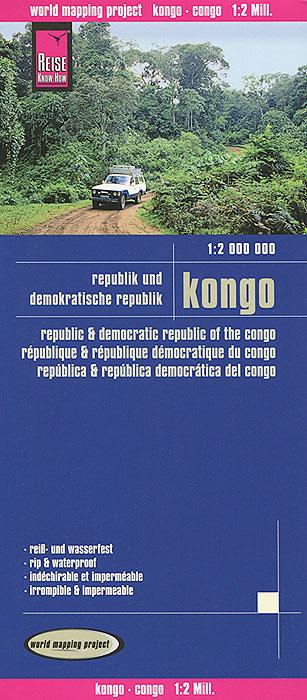 Kongo. Карта