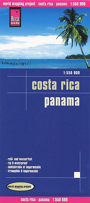цена на Costa Rica: Panama. Карта