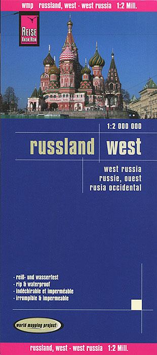 Russland West. Карта модель самолета аэрофлот sukhoi superjet ssj 100 хохлома масштаб 1 100