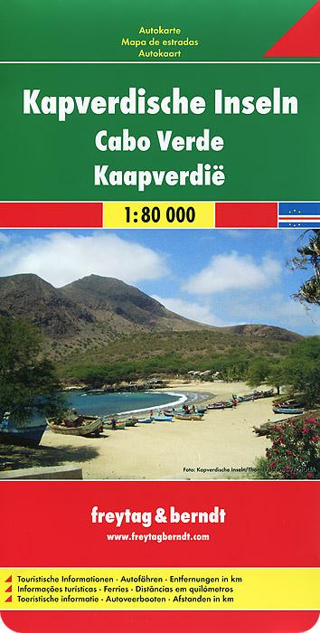 Kape Verde Islands: Road Map gerdamix fl verde f103 мокко