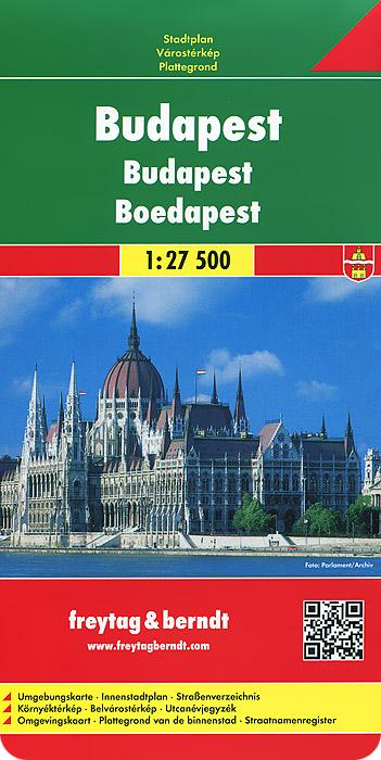 Budapest: City Map