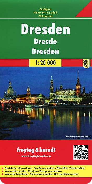 Dresden: City Map dresden city map