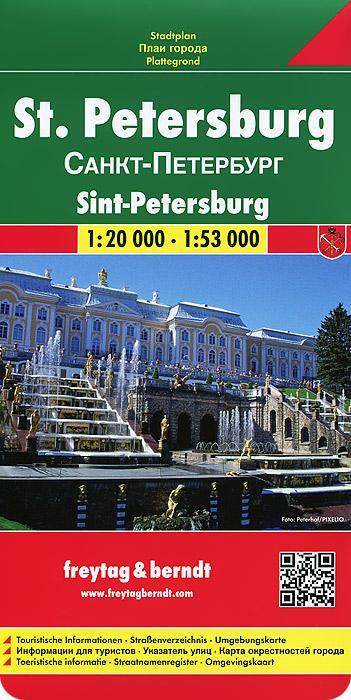 Санкт-Петербург. Карта