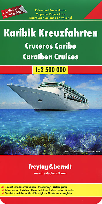 Caribbean Cruises: Travel and Leisure Map
