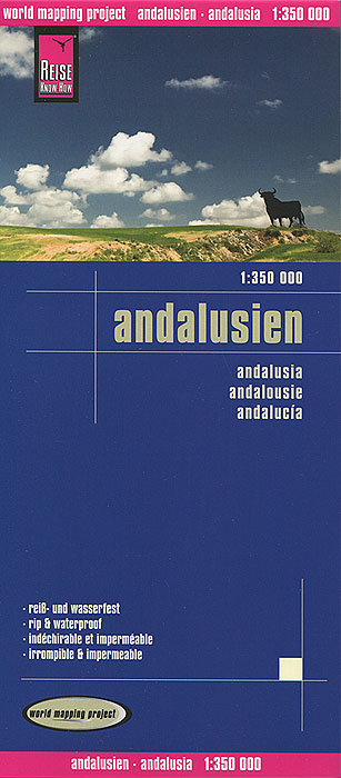 Andalusien. Карта