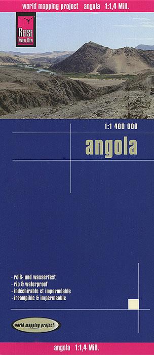 Angola. Карта