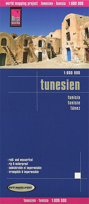 Tunesien. Карта