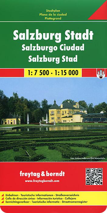 Salzburg City: City Map щелково план города карта окрестностей