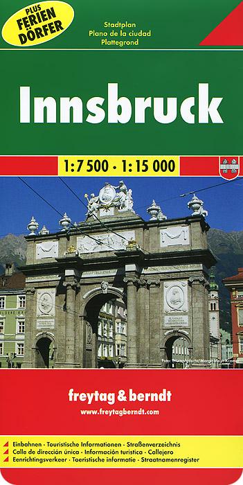 Innsbruck: City Map