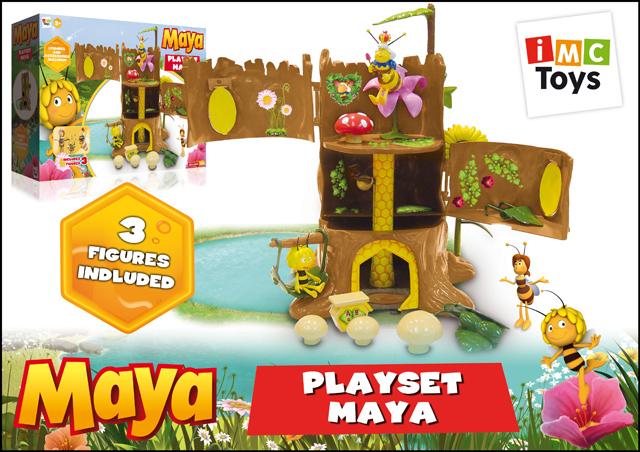 Игровой набор Пчелка Майя в коробке пчелка майя новые приключения выпуск 4 побег из улья