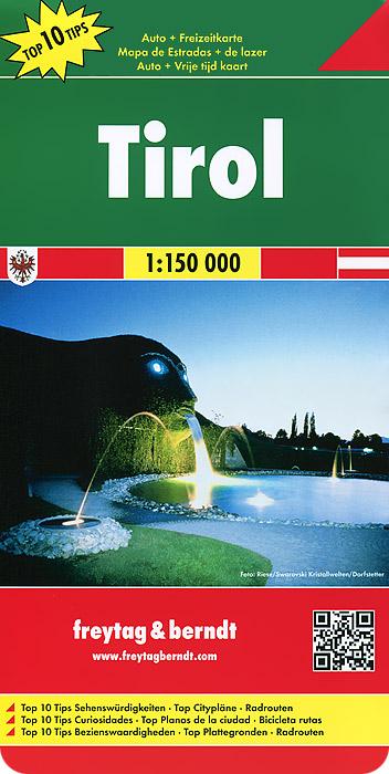 Tirol: Autokarte