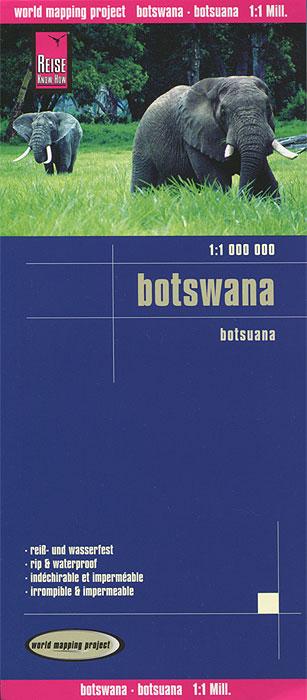 Botswana. Карта and botswana 002