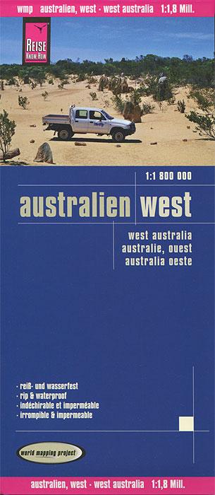 Australien. West. Карта australien карта