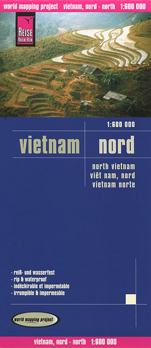 Vietnam. North. Карта