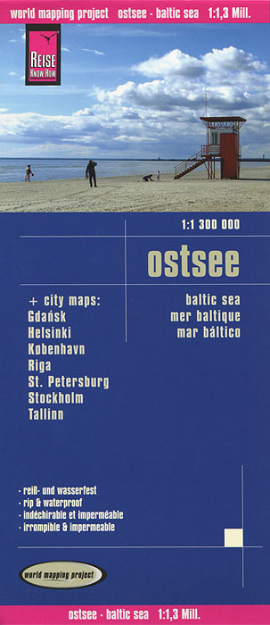 Ostsee. Карта