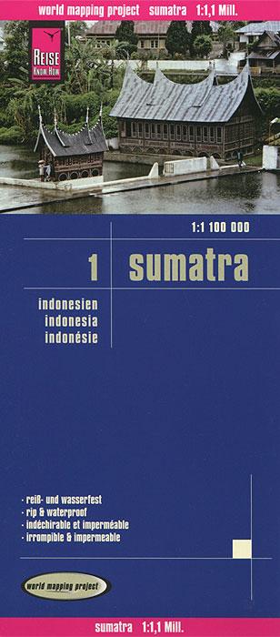 "Sumatra. Indonesien. Карта 1 tyr sumatra all over 3"" racer"