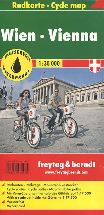 Vienna: Сycle Map vienna pocket map