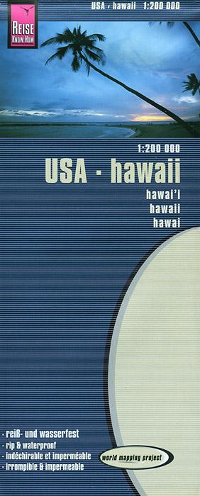 USA, Hawaii: Map
