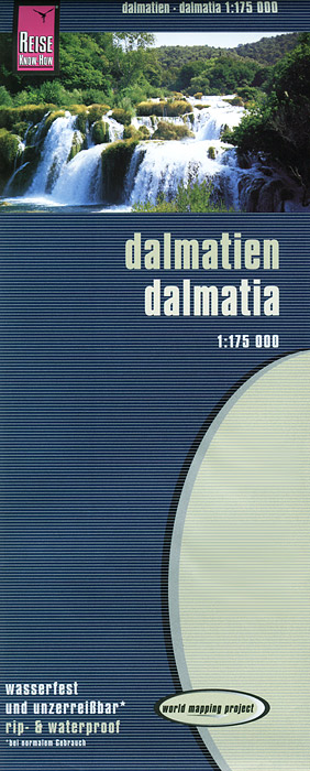 Dalmatia: Map