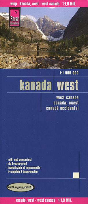 Kanada. West. Карта mikk pärnits kaotaja