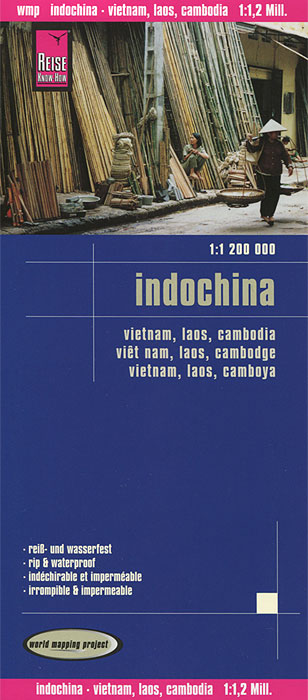 Indochina. Карта