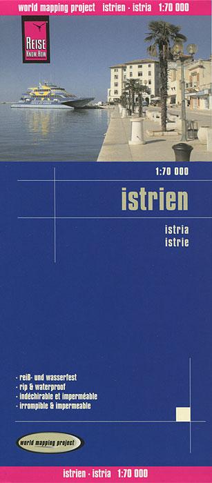 Istria. Карта istria pocket map