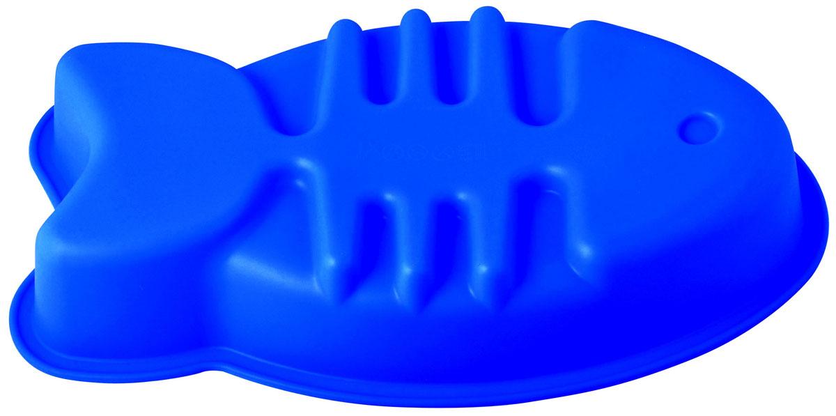 Форма для выпечки и заморозки Regent Inox Рыбка, силиконовая, цвет: синий, 36 см х 19 см х 6 см93-SI-FO-55Форма для выпечки и заморозки Рыбка выполнена из силикона и предназначена для изготовления выпечки, желе и др.Силиконовые формы выдерживают высокие и низкие температуры (от -40°С до +230°С). Они эластичны, износостойки, легко моются, не горят и не тлеют, не впитывают запахи, не оставляют пятен. Силикон абсолютно безвреден для здоровья.Не используйте моющие средства, содержащие абразивы. Можно мыть в посудомоечной машине. Подходит для использования во всех типах печей.Формы для выпечки и заморозки Regent Inox - отличный подарок! Они удобны и необходимы любой хозяйке! Характеристики:Материал: силикон. Общий размер формы: 36 см х 19 см х 6 см. Размер упаковки: 43 см х 25 см х 6,5 см. Изготовитель: Италия. Артикул: 93-SI-FO-55.