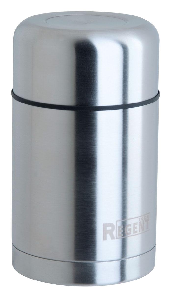 Термос Regent Inox, 0,75 л. 93-TE-S-2-75093-TE-S-2-750Термос Regent Inox изготовлен из высококачественной пищевой нержавеющей стали с современной технологией теплоизолляции. Высокая надёжность и долговечность. Имеется глубокий вакуум и двойная металлическая колба, способствующая более длительному сохранению тепла. Термос удобен в использовании дома, на даче, в турпоходе и на рыбалке. Пригодится на работе, в офисе и командировке, экономит электроэнергию и время.Объем: 0,75 л.Диаметр термоса: 8 см.Высота термоса (с учётом крышки): 18 см.