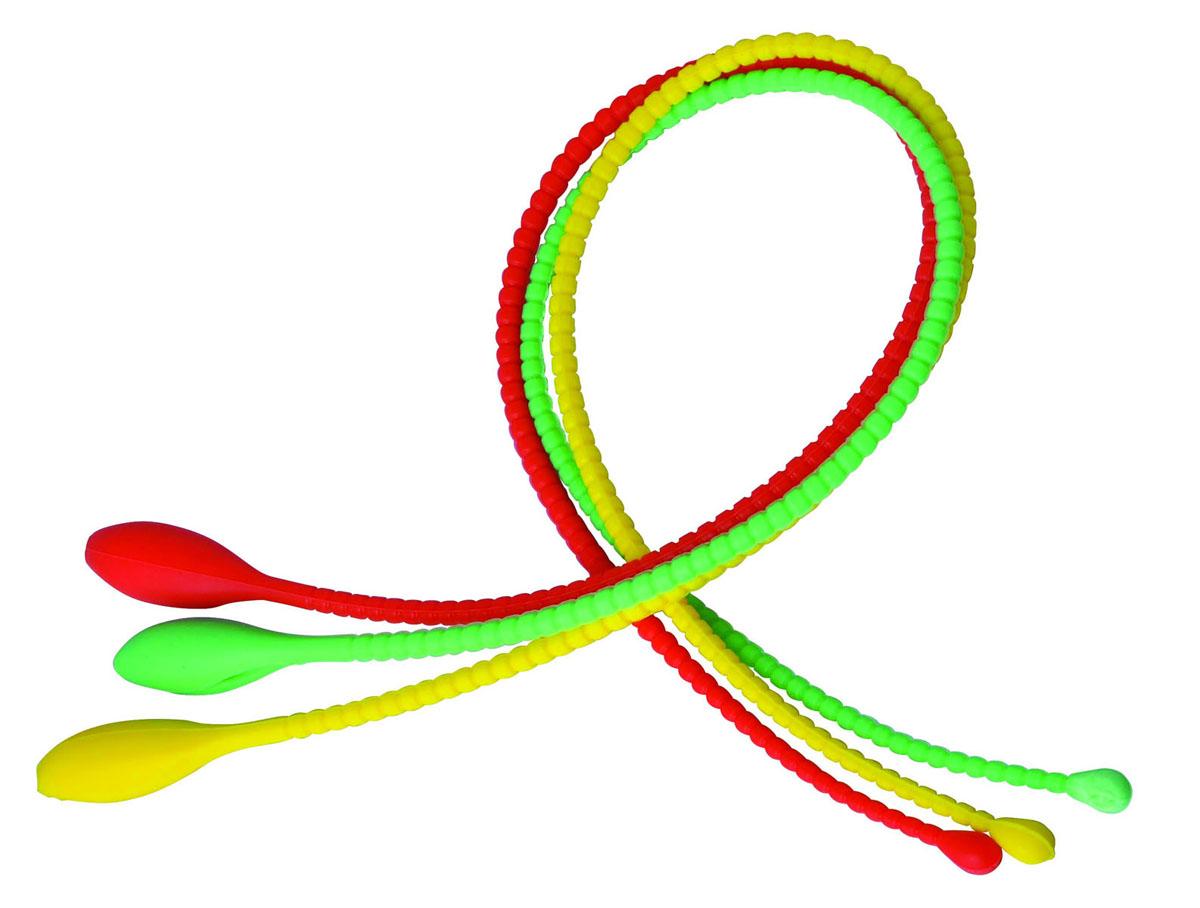 Набор шнуров-петель кулинарных Silicone, 3 шт93-SI-S-23Набор Linea Silicone состоит из трех кулинарных шнуров-петель разного цвета, выполненных из силикона.Кулинарные шнуры-петли предназначены для простого и быстрого связывания продуктов, рулетов, птицы, рыбы, овощей и т.д. для их приготовления и хранения.Силикон выдерживает высокие и низкие температуры (от -40°С до +230°С) и абсолютно безвреден для здоровья.Шнуры-петли быстро остывают, они эластичны, износостойки, легко моются, не горят и не тлеют, не впитывают запахи, не оставляют пятен.Набор Linea Silicone - это прекрасный подарок, необходимый любой хозяйке. Характеристики:Материал: силикон.Длина шнуров-петель: 44 см.Цвет: красный, зеленый, желтый.Артикул: 93-SI-S-23.