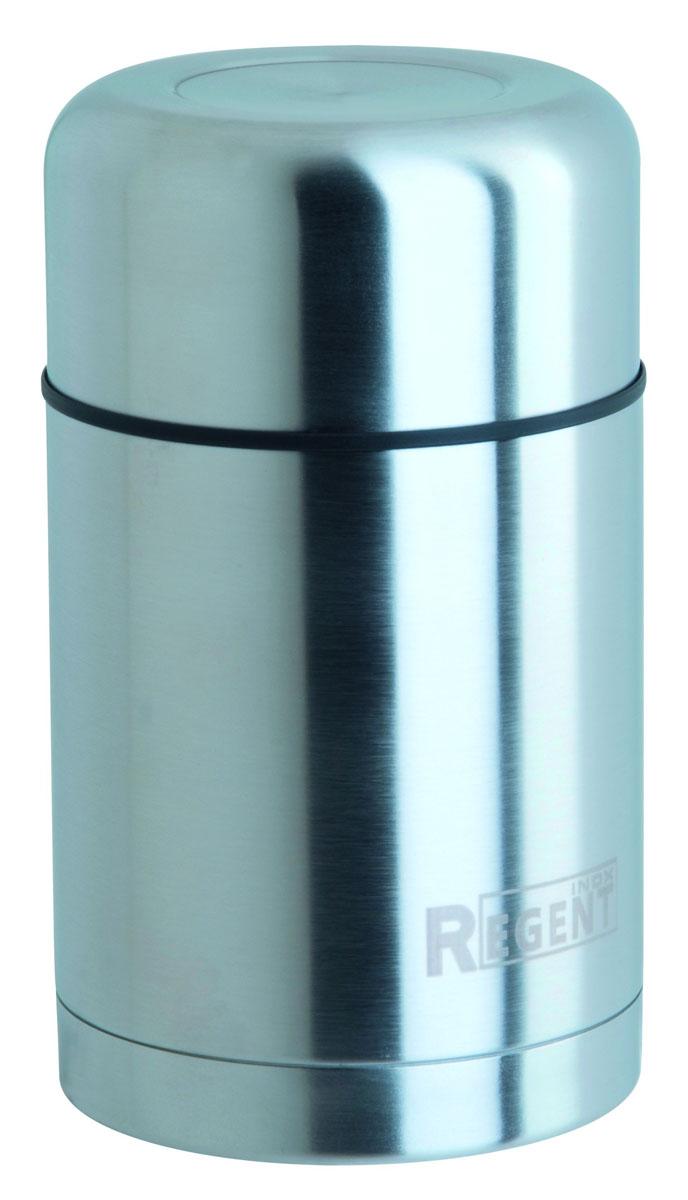 Термос Regent Inox Soup, 1 л. 93-TE-S-2-100093-TE-S-2-1000Термос Regent Inox Soup изготовлен из высококачественной пищевой нержавеющей стали с матовым полированием и с современной технологией теплоизолляции. Высокая надёжность и долговечность. Имеется глубокий вакуум и двойная металлическая колба, способствующая более длительному сохранению тепла. Термос оснащен широким горлом, позволяющим есть супы, бульоны, вторые блюда прямо из емкости. А вакуумная пробка на крышке - дополнительная гарантия прочности посуды. Термос удобен в использовании дома, на даче, в турпоходе и на рыбалке. Пригодится на работе, в офисе и командировке, экономит электроэнергию и время. Характеристики:Материал: нержавеющая сталь, пластик. Объем: 1 л. Диаметр термоса: 10 см. Высота термоса (с учётом крышки): 21,5 см. Размер упаковки: 11 см х 11 см х 22,5 см. Артикул: TE-B-1-1000B.