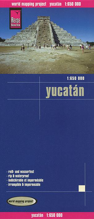 Yucatan. Карта