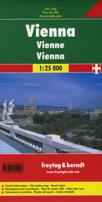 Vienna: City Map vienna city map