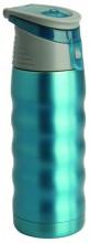 Термос Regent Inox Fitness, цвет: голубой, 0,48 л. 93-TE-FI-1-480B термос regent inox fitness 480ml 93 te fi 1 480b