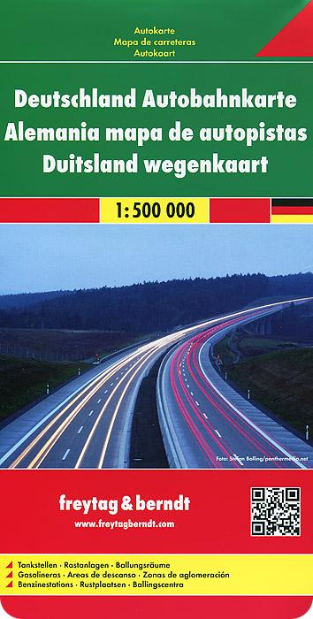 Germany Motorway Map