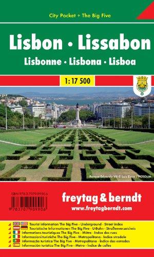 Lisbon: Pocket Map ghost lisbon