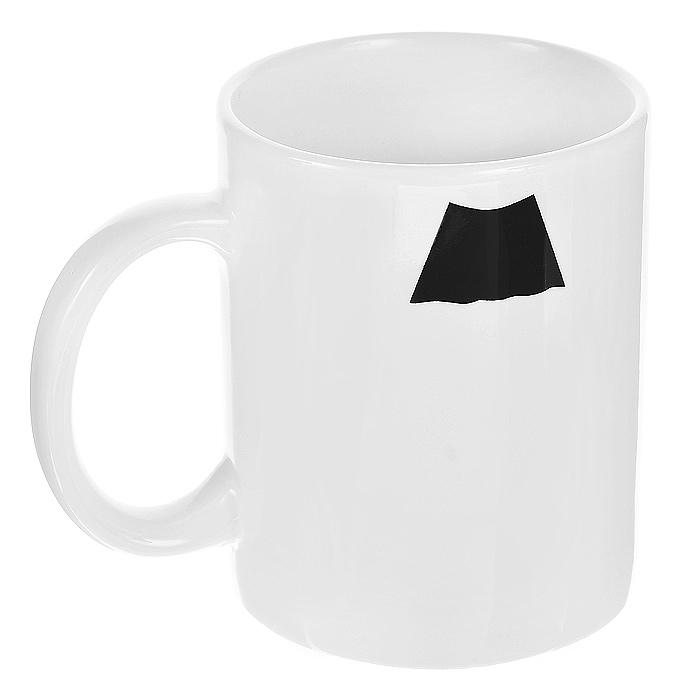 Кружка керамическая Усы. Чарли Чаплин94839Керамическая кружка Усы. Чарли Чаплин станет отличным подарком для человека, ценящего забавные и практичные подарки. Кружка белого цвета оформлена изображением усов в стиле Чарли Чаплина. Такой подарок станет не только приятным, но и практичным сувениром: кружка станет незаменимым атрибутом чаепития, а оригинальный дизайн вызовет улыбку. Характеристики:Материал:керамика. Высота кружки:9,5 см. Диаметр по верхнему краю:8 см. Размер упаковки:11 см х 10 см х 8,5 см. Артикул: 94839.