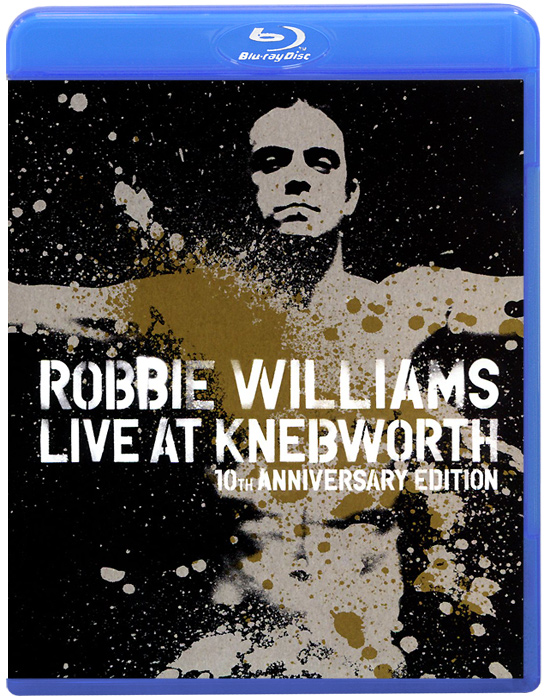 Robbie Williams: Live At Knebworth, 10th Anniversary Edition (Blu-ray) let there be rock cd