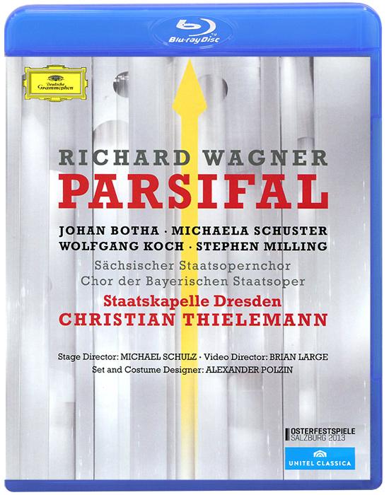 Christian Thielemann,  Wagner: Parsifal (Blu-ray) электрический краскопульт w550 wagner