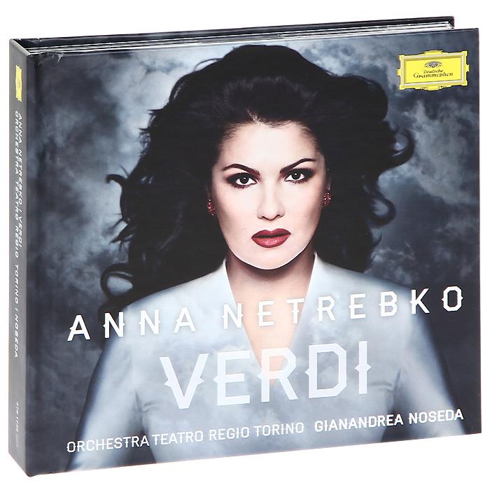 Анна Нетребко,Orchestra Teatro Regio Torino,Жанандреа Нозеда,Роландо Виллазон,Chorus Teatro Regio Torino Anna Netrebko. Verdi (CD + DVD) анна нетребко франкфурт