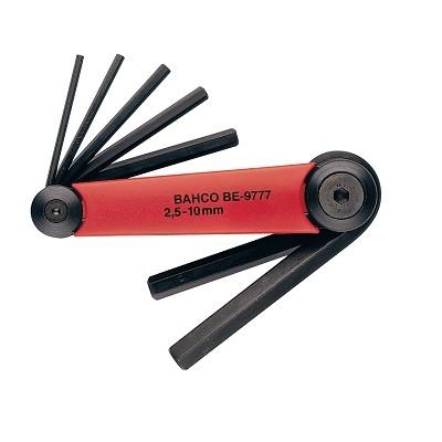 Набор шестигранников Bahco, 7 штBE-9776Набор шестигранников Bahco имеет специальный металлический держатель. Ключи изготовлены из хром-ванадиевой стали. В наборе 7 ключей. Характеристики: Материал: пластик, металл. Размеры ключей: 0,15 см, 0,2 см, 0,25 см, 0,3 см, 0,4 см, 0,5 см, 0,6 см. Размеры упаковки: 22,5 см х 7 см х 3 см.