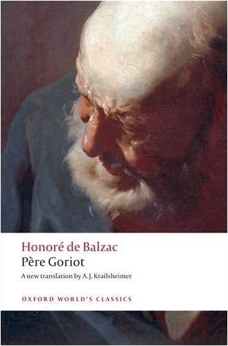 Balzac: P'Ere Goriot honore de balzac le pere goriot