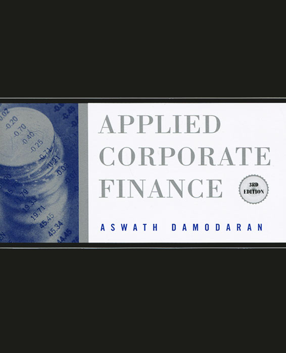 Applied Corporate Finance edward bodmer corporate and project finance modeling theory and practice
