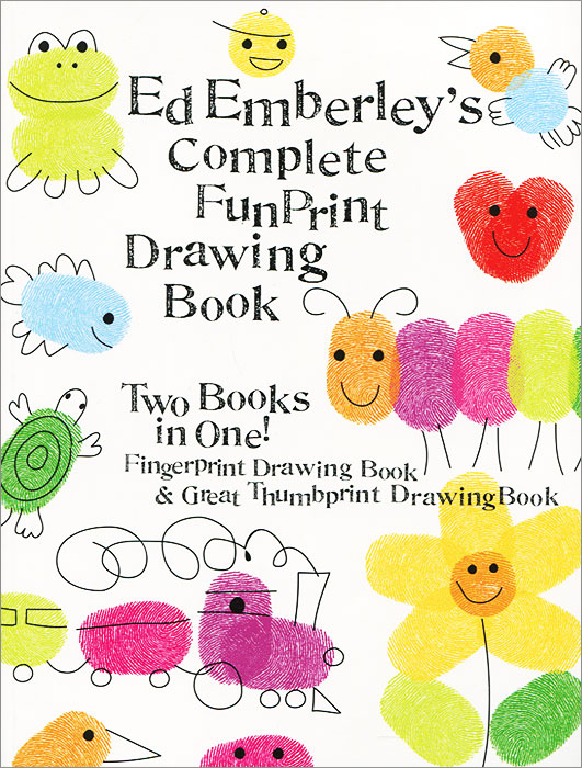 Купить Ed Emberley's Complete Funprint Drawing Book