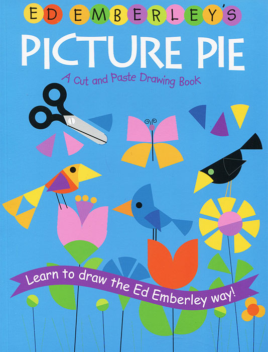 Купить Picture Pie: A Cut and Paste Drawing Book