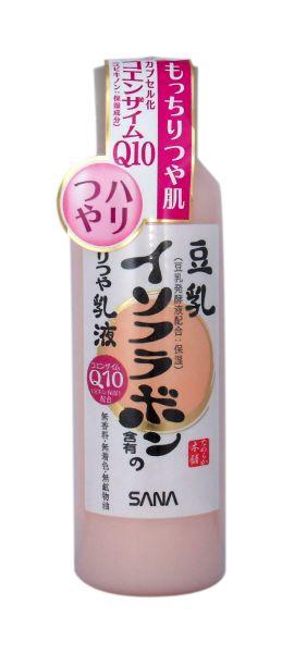 Sana Увлажняющее молочко, с изофлавонами сои и капсулированным коэнзимом Q10, 150 мл крем для лица sana sana sa045lwwga66
