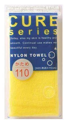 """Мочалка для тела """"Ohe"""", цвет: желтый. 618628"""