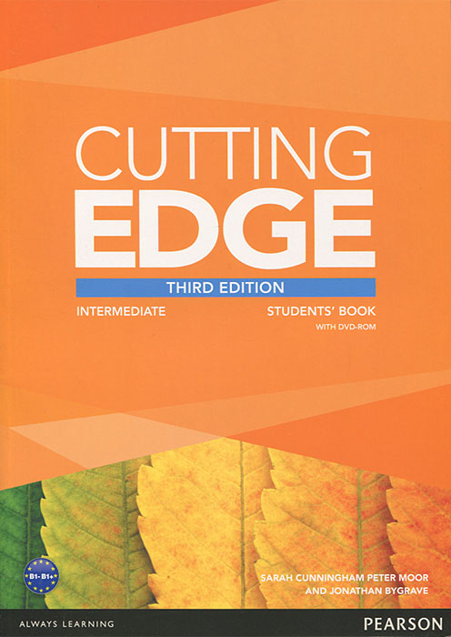 Cutting Edge: Intermediate (+ DVD-ROM) cutting edge upper intermediate student s book mini dictionary and cd rom